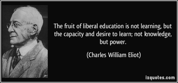 liberal education quote