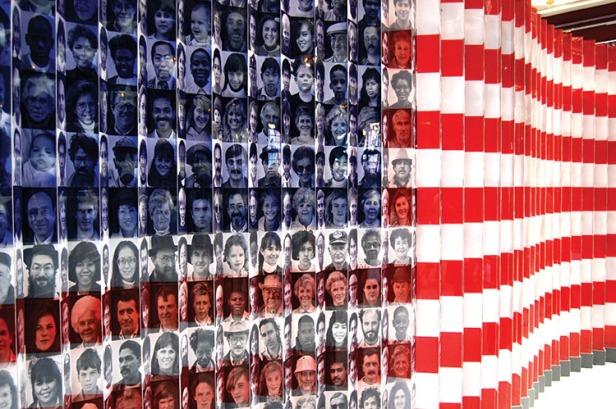 Ellis Island Immigrant Flag