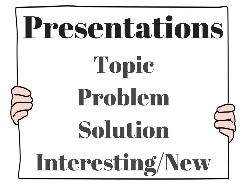 1A Presentations