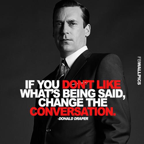 the conversation don