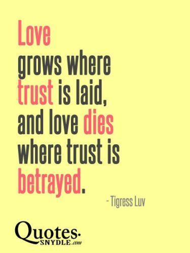 betrayed trust