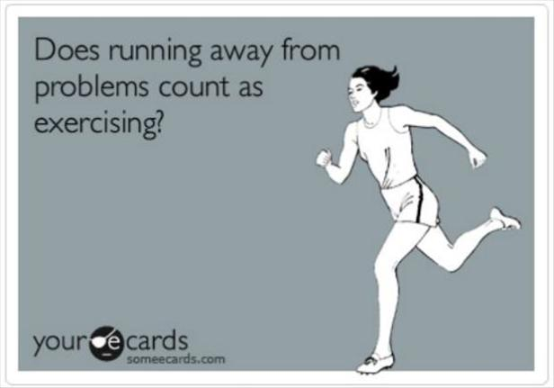 running-away-from-my-problems