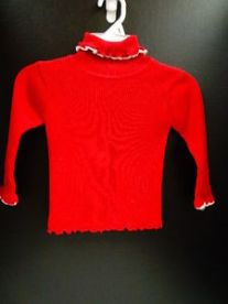 used-good-girls-childrens-place-red-ribbed-turtleneck-3t-sweater_812229