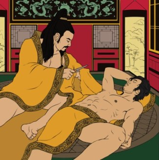 Emperor-Ai-and-his-lover-Dong-Xian