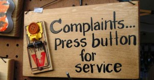 complaints-funny-customer-service-quotes-press-button-for-tremendous-wooden-brown-hanging-wall