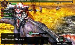 MOnster hunter mount yto