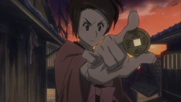 samurai champloo fuu with coin