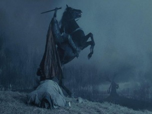 The headless horseman without a head.