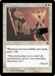 Contemplation trophy