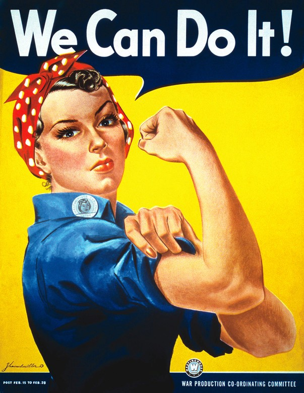 """Image result for rosie the riveter"""""""